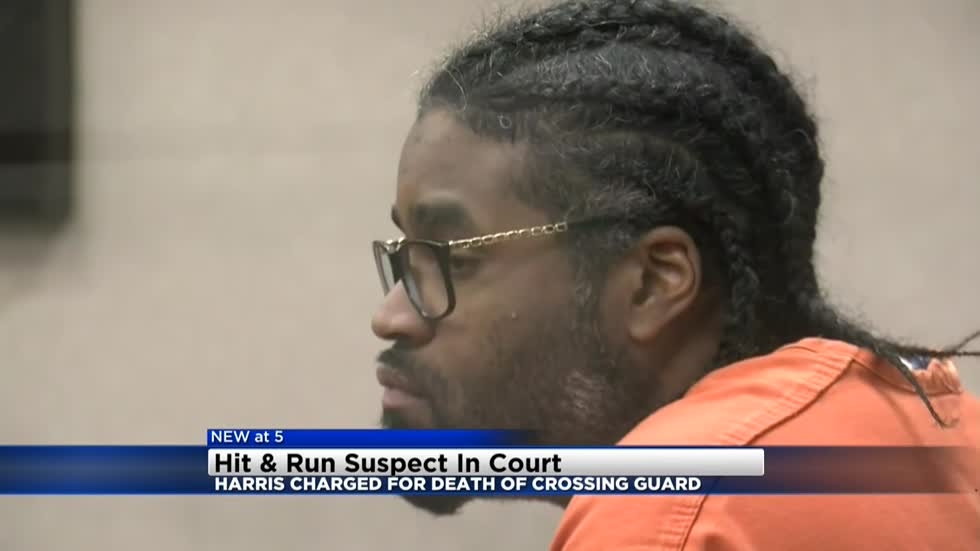 Suspect charged in hit-and-run death of crossing guard makes first court appearance